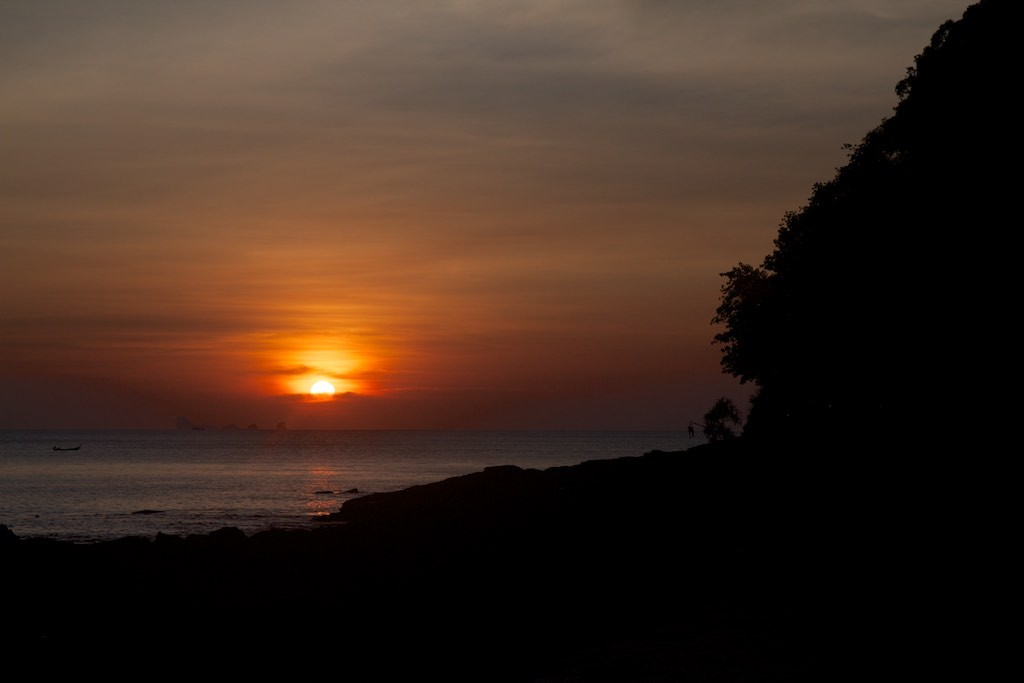 Sunset from Koh Lanta