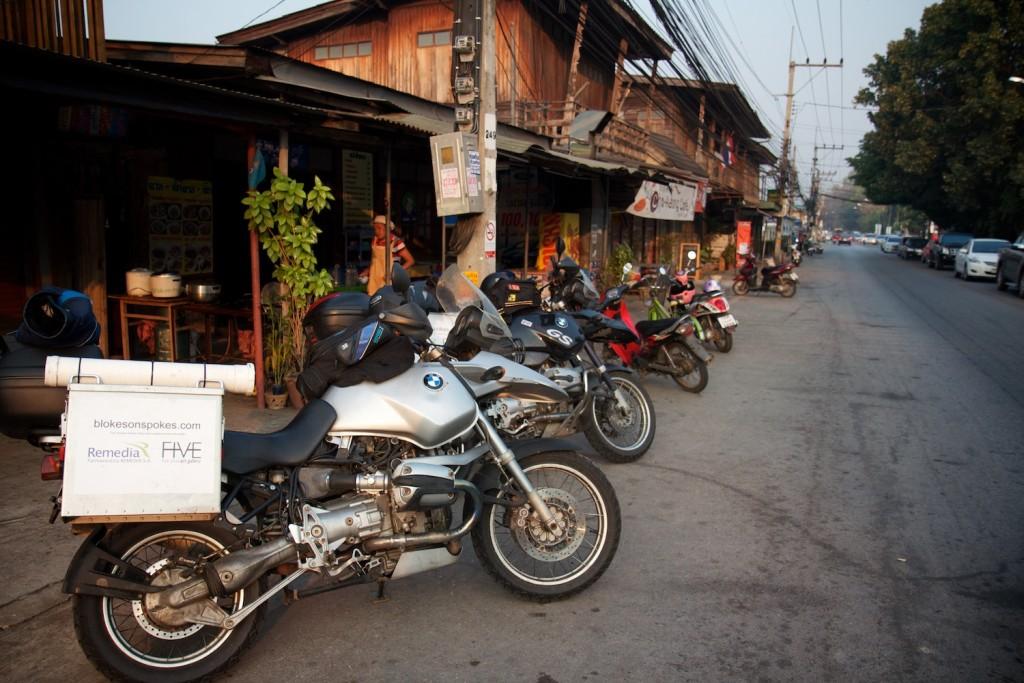 Our breakfast restaurant in Kamphaeng Phet