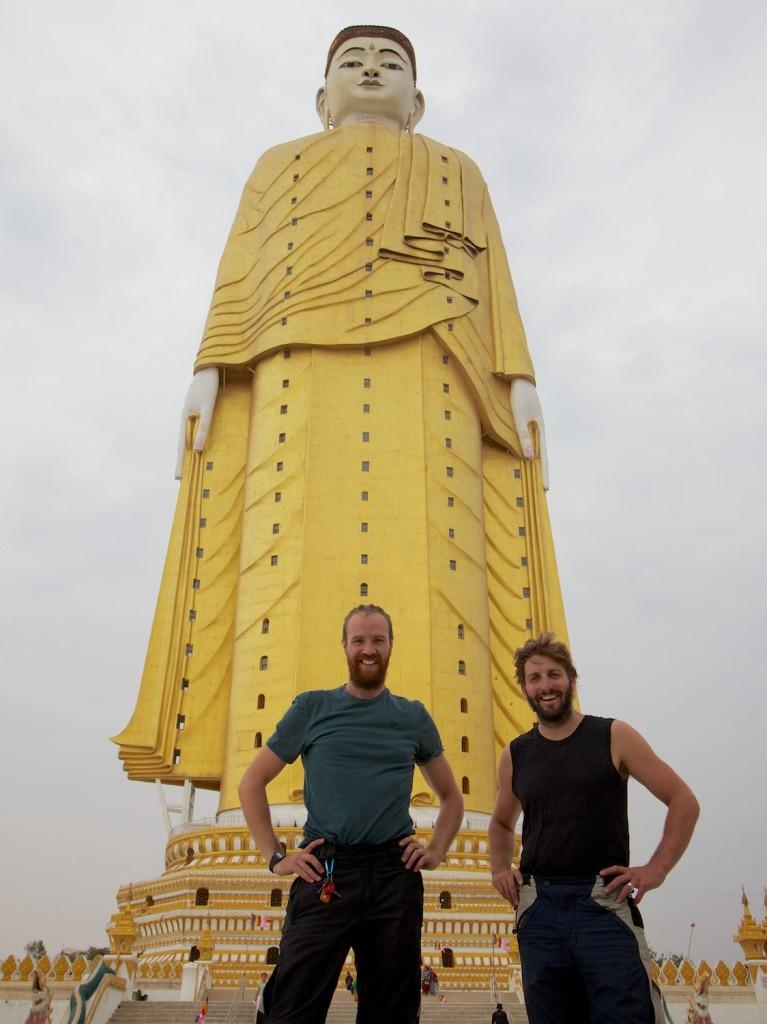 Yep, this Buddha's a big one