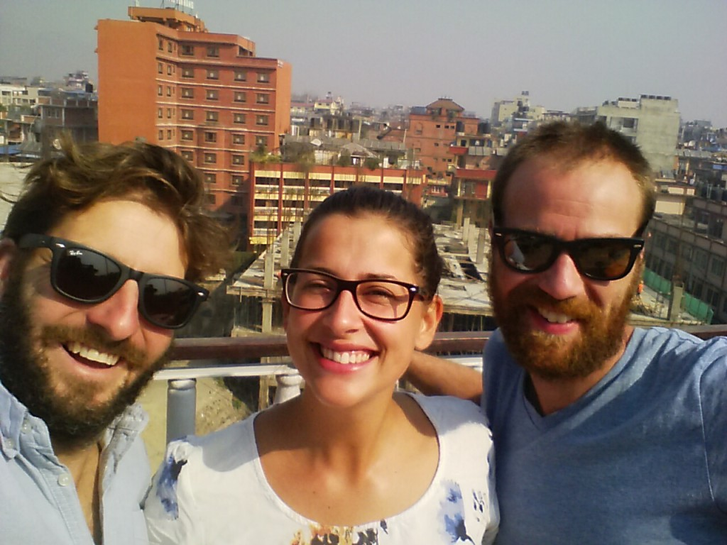 Reunion with the Blokes in Kathmandu