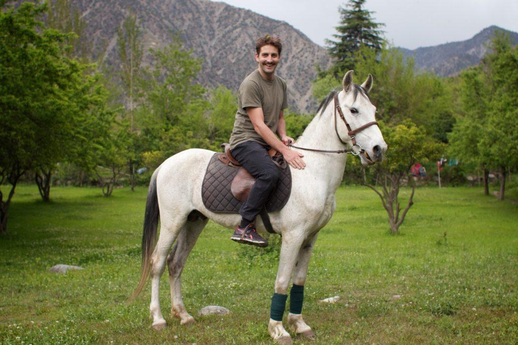 Horse riding at Nagar