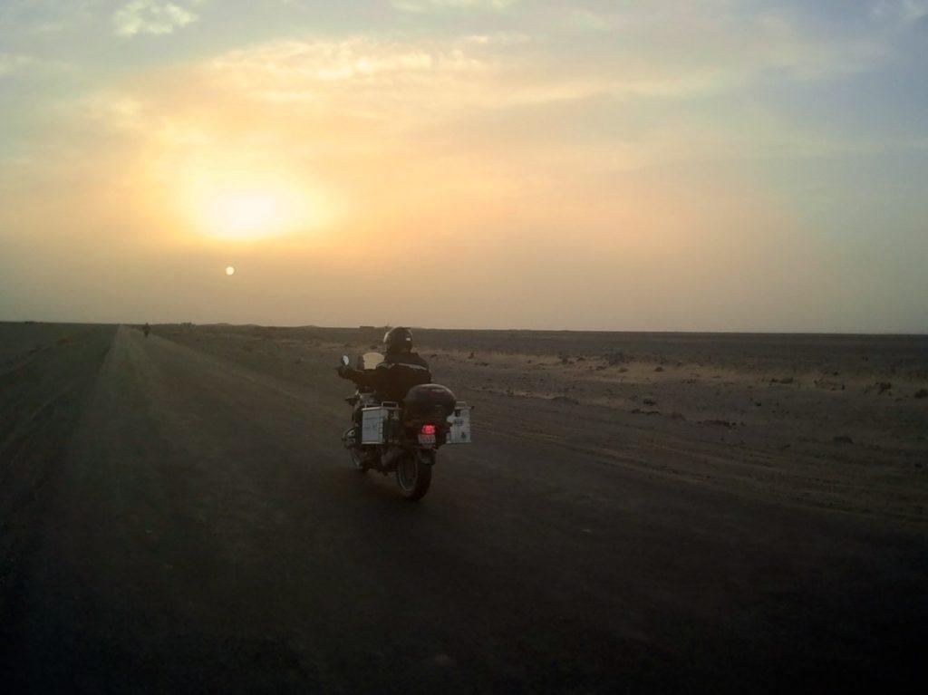 Racing the sun to Taftan