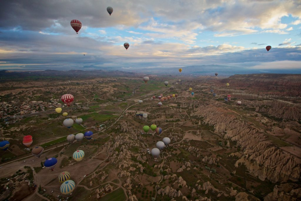 Exceptional morning Ballooning.