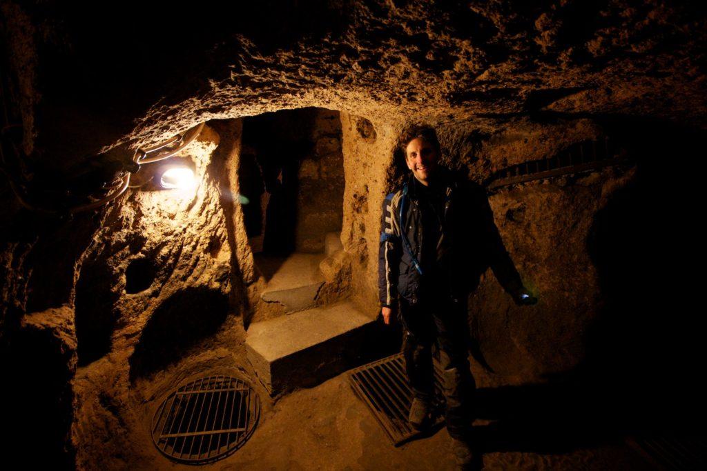 The Underground City, Derinkuyu, Cappadocia